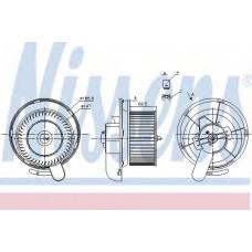 Вентилятор отопителя  MERCEDES ATEGO 2 (04-) 1215, 1216, 1218, 122 (пр-во Nissens)